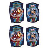 Chrániče kolen a loktů pro děti Capitan America a Iron man Avengers