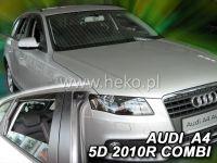 Plexi, ofuky Audi A4 5D 2009 =>, přední + zadní HDT