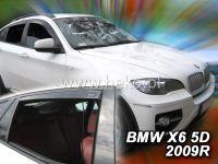 Plexi, ofuky BMW X6 5D 2008 => + zadní HDT
