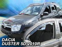 Plexi, ofuky Dacia Duster 5 dveř., od roku 2010r =>, 2ks přední HDT