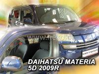 Plexi, ofuky Daihatsu Materia 5D 2006 =>, přední HDT