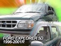 Plexi, ofuky Ford Explorer 5D 1996-2001 přední HDT