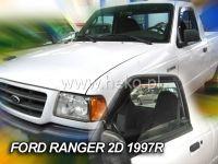 Plexi, ofuky Ford Ranger Pic-up 2/4D 1997 =>, přední HDT