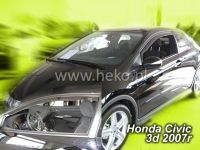 Plexi, ofuky Honda Civic 3D 2007 =>, přední HDT