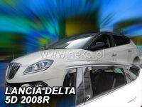 Plexi, ofuky Lancia Delta 2008 =>, přední + zadní HDT