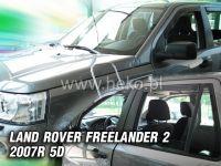 Plexi, ofuky Land Rover Freelander II 5D. 2007 =>, přední + zadní HDT