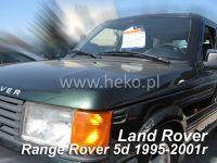 Plexi, ofuky Land Rover Range Rover II 5D. 1994-2002, přední + zadní HDT