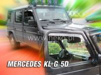 Plexi, ofuky MERCEDES G, 5D, přední HDT