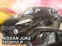 Plexi, ofuky bočních skel NISSAN JUKE 5D 2010 => HDT
