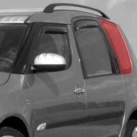 Sluneční clony - zadní boční okno, Škoda Roomster