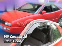 Plexi, ofuky VW Corrado 3D 88-1990 přední HDT