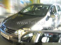 Plexi, ofuky VW Golf V, 5D 2004 =>, přední HDT