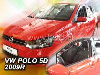 Plexi, ofuky VW Polo 5D 2009, přední HDT