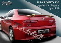 Zadní spoiler křídlo zadní pro Alfa Romeo 156