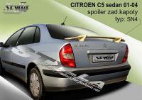 Zadní spoiler křídlo zadní pro CITROEN C5 sedan 2001-2004r