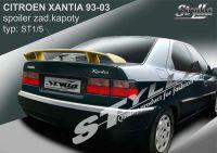 Zadní spoiler křídlo zadní pro CITROEN Xantia 1993-2003
