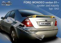 Zadní spoiler křídlo zadní pro FORD Mondeo sedan od 2001r =>