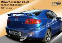 Zadní spoiler křídlo zadní pro MAZDA 3 sedan 2003-2009r