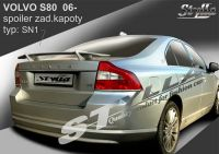 Zadní spoiler křídlo zadní pro VOLVO S80 2006r =>