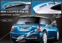 Zadní spoiler křídlo a střešní pro MINI Cooper R56 2006r =>