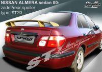 Spoiler zadní kapoty pro NISSAN Almera sedan 2000r =>