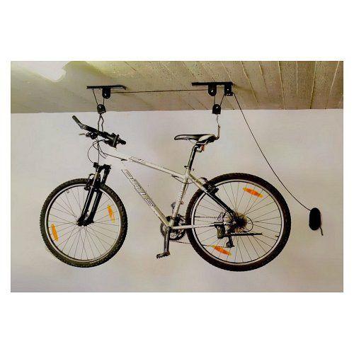 Kovový kladkový držák k montáži na strop, pro horské kolo, zavazadlo 1ks