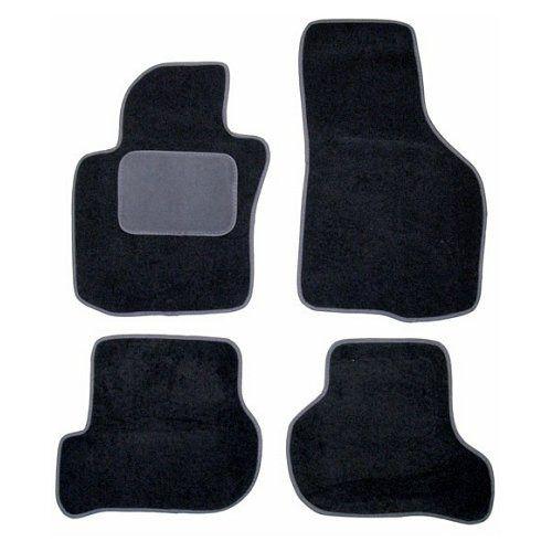Autokoberce Škoda Octavia II od roku 2004 =>, černé, 2x přední, 2x zadní díl