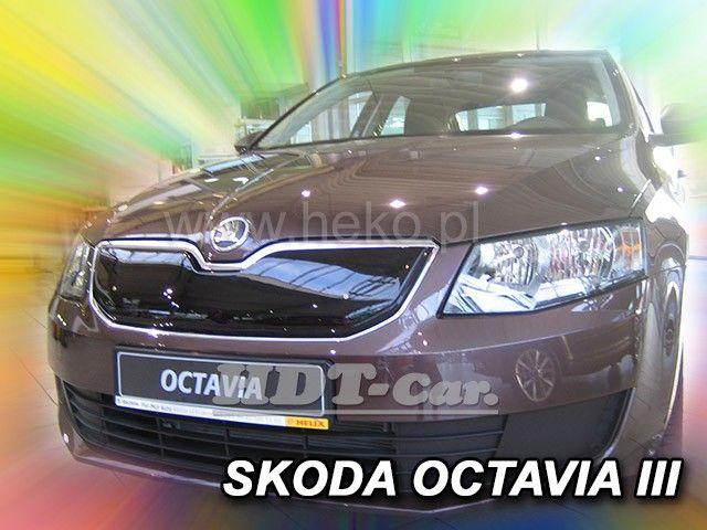 Zimní clona masky chladiče Škoda Octavia III 2013