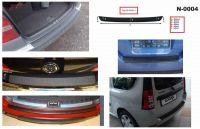 Ochranná krycí lišta zadního nárazníku Hyundai i10 2014r =>