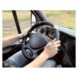 POTAH NA VOLANT šedý prům 42 cm GRIP LARGE pro dodávky, SUV a vozidla s větším volantem