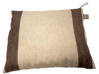 Relaxační polštář do sauny 26x30 cm, hnědý