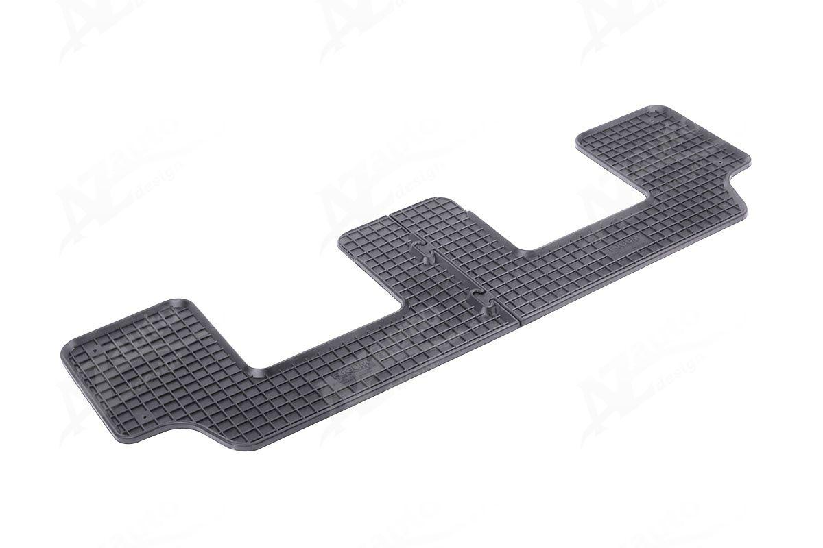 Přesné gumové autokoberce na míru pro CITROEN C4 Picasso jen 3.řada 2013 Rigum