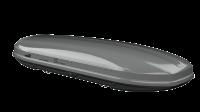Střešní box HAKR Magic Line 450 Strong - stříbrná metalická perleť