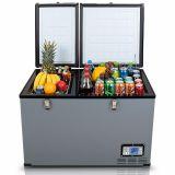 Autochladnička / mraznička / lednice kompresorová / chladící box do auta Aroso 12V/24V/230V 100l -18°C