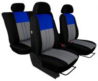 Autopotahy Ford C- MAX I, 2003-2010, 5 míst, DUO TUNING modrošedé