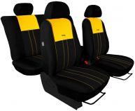 Autopotahy Ford C- MAX I, 2003-2010, 5 míst, DUO TUNING žluto černé