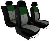 Autopotahy Ford C- MAX I, 2003-2010, 5 míst, DUO TUNING zeleno šedé
