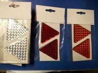Reflexní samolepící odrazky trojúhelník