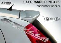 Zadní spoiler horní zadní pro FIAT Grande Punto 2005r =>