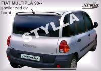 Zadní spoiler horní zadní pro FIAT Multipla 1999r =>