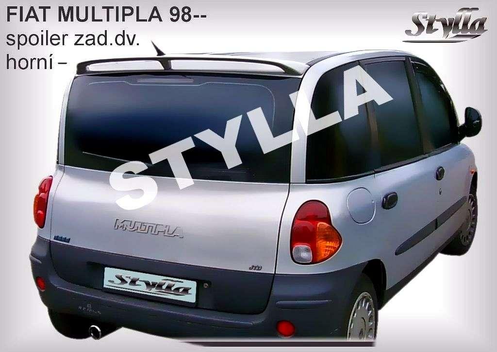 Spoiler, křídlo na zadní dveře horní na míru pro FIAT Multipla 1999r =>