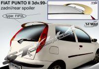 Zadní spoiler horní zadní pro FIAT Punto II 3dv. 1999r =>