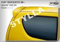 Zadní spoiler horní zadní pro FIAT Seicento 1998r =>