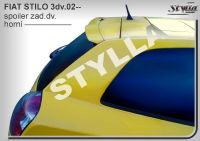 Zadní spoiler horní zadní pro FIAT Stilo 3dv. 2001r =>