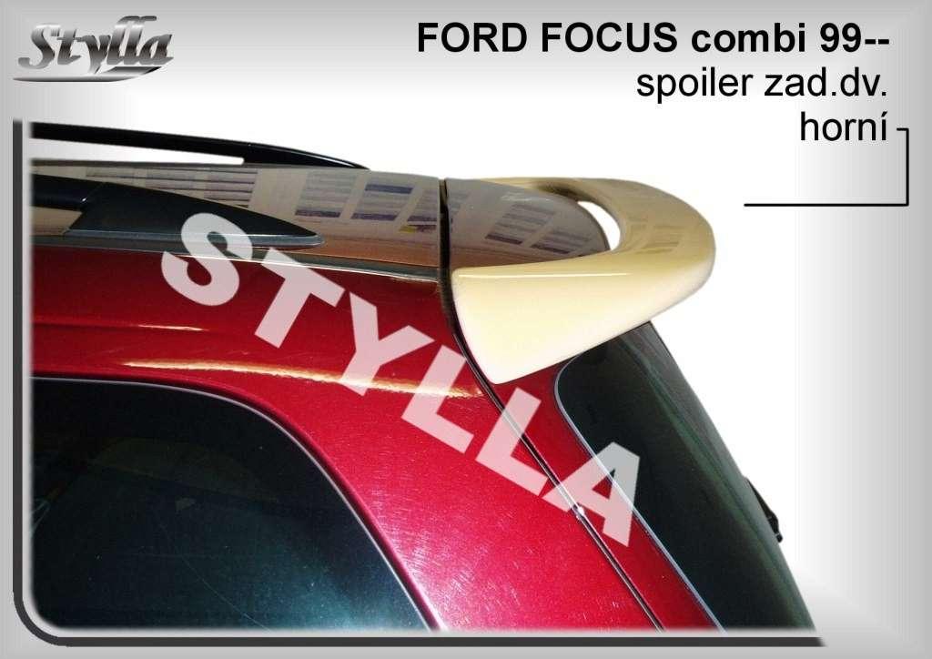 Spoiler, křídlo na zadní dveře horní na míru pro FORD Focus combi 1999-2004r