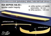 Zadní spoiler křídlo zadní pro KIA Sephia htb 1995-1997r