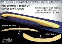 Zadní spoiler křídlo zadní pro KIA Shuma sedan 2001-2004r