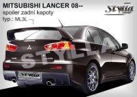 Zadní spoiler křídlo pro MITSUBISHI Lancer sedan 2008r =>