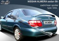 Zadní spoiler křídlo pro NISSAN Almera sedan 2000r =>