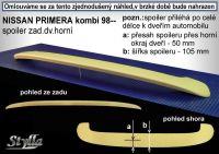 Zadní spoiler křídlo pro NISSAN Primera combi 1998-2002r